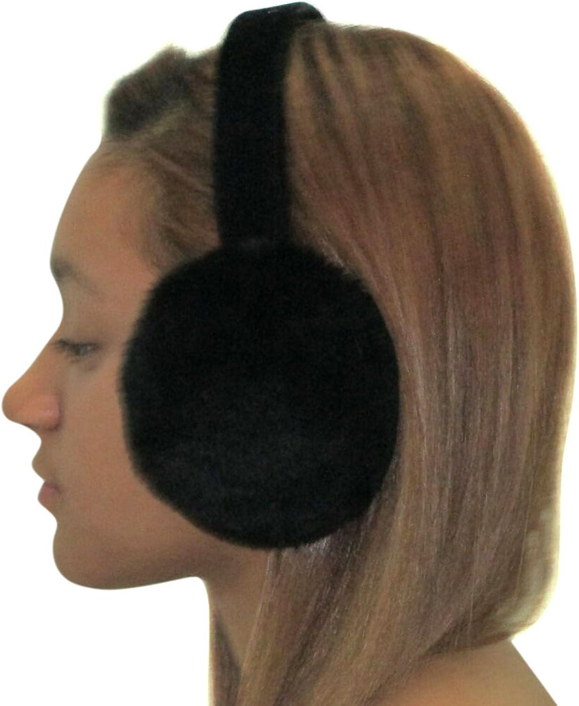 Sheared Mink Ear Muffs