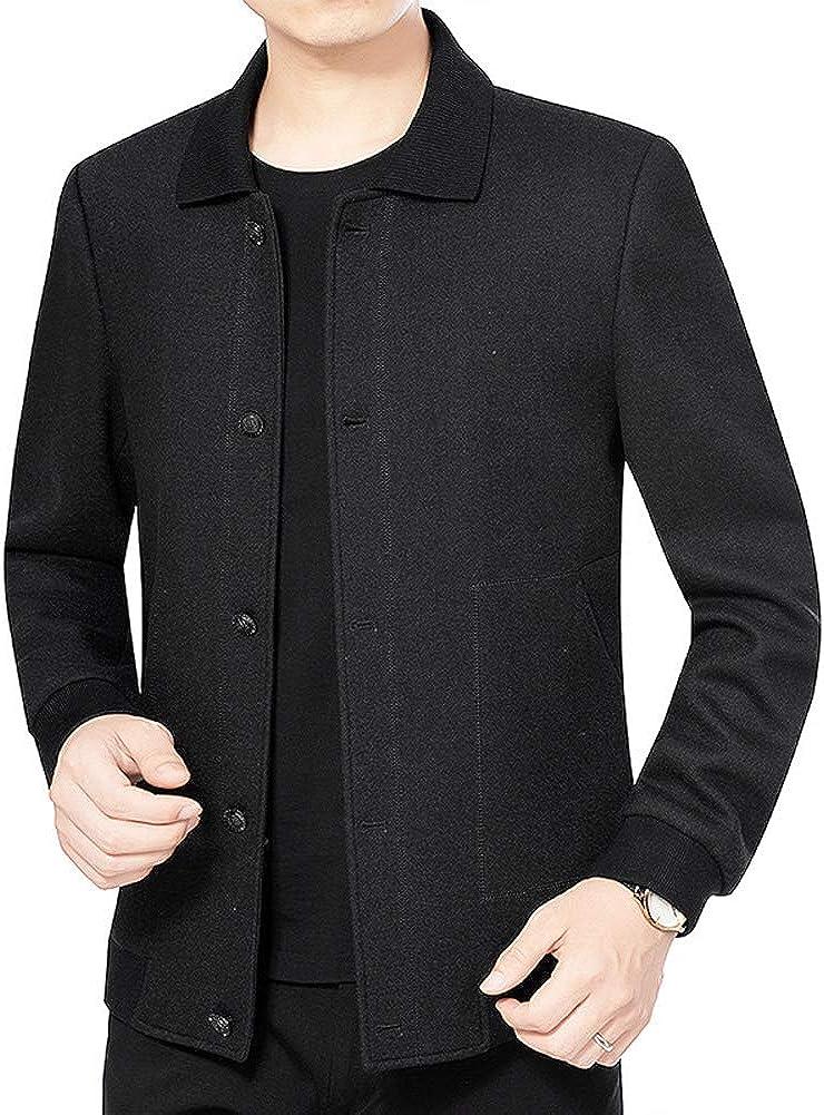 ZIXUAAB Men's Cotton Light Casual Jacket Coat New Orleans San Antonio Mall Mall