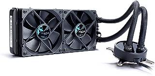 Fractal Design Celsius S24-240 mm Radiator - Silent Liquid CPU Cooler - PWM - Intelligent Controls - 2X Fractal Design Dynamic X2 PWM GP-12 120Mm Silent Fans Included - 1/4