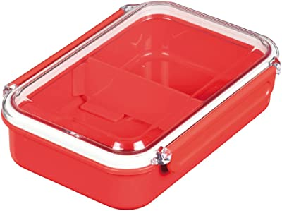 パール金属 ランチ ボックス 弁当箱 650 レッド 日本製 燕三条製 レノン D-2320