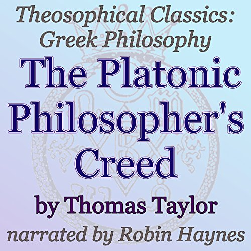 The Platonic Philosopher's Creed cover art
