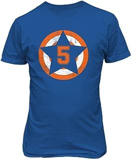 New York David Wright Captain America Men's T-Shirt