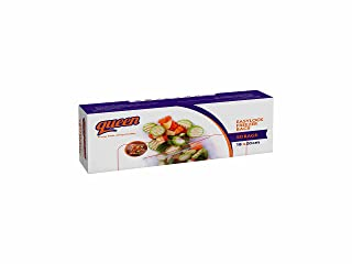 Queen Easy Lock Freezer Bags, Small, 50 Bags - Clear