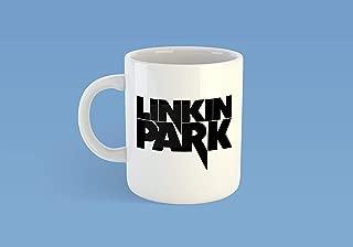Linkin Park Logo Mug Cup Custom Printed Heavy Metal Music Band hoody Tshirt Valentines