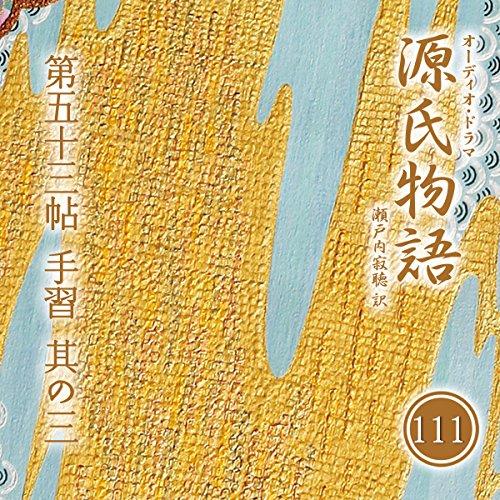 『源氏物語 瀬戸内寂聴 訳 第五十三帖 手習 (其ノ三)』のカバーアート