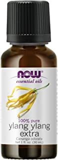 NOW Essential Oils, Ylang Ylang Extra Oil, Comforting Aromatherapy Scent, Steam Distilled, 100% Pure, Vegan, Child Resista...