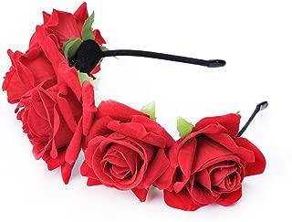 Best red rose headband Reviews