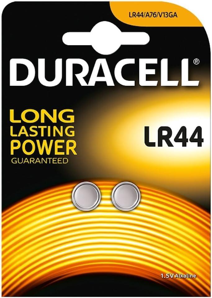 Duracell Knopfzelle Alkaline Lr44 Ag13 V13ga 1 5v Computer Zubehör