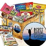 Reiselust / Schokolade DDR Geschenk / Reise Geschenk zur Silberhochzeit