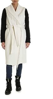 P.A.R.O.S.H. Luxury Fashion Womens D41052402 White Coat | Fall Winter 19