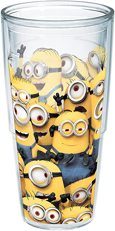 Tervis 1187005 Despicable Me Mass Insulated Tumbler With Wrap 24oz Clear