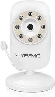 YISSVIC ベビーモニター 3.5インチ追加カメラ 見守りカメラ 遠隔監視カメラ