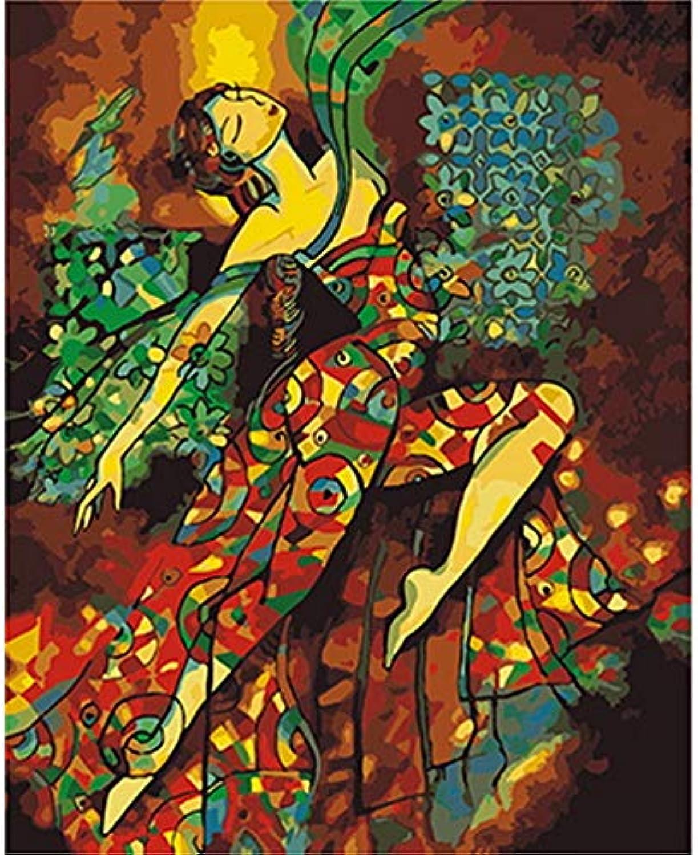 CZYYOU DIY Ölgemälde Durch Zahlen Malen Nach Zahlen Für Wohnkultur Leinwand Gemälde Im Traum, Mit Rahmen, 50x60cm B07Q5G6L6M | Sorgfältig ausgewählte Materialien