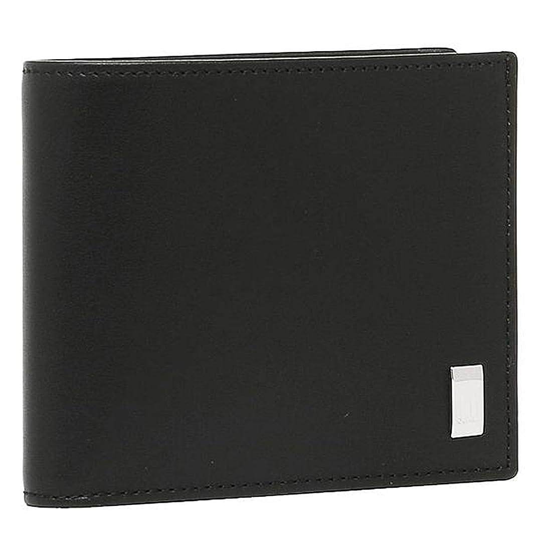 教育する幸運偏見[ダンヒル] 財布 DUNHILL QD3070A SIDECAR 2つ折り財布 BLACK 黒 [並行輸入品]