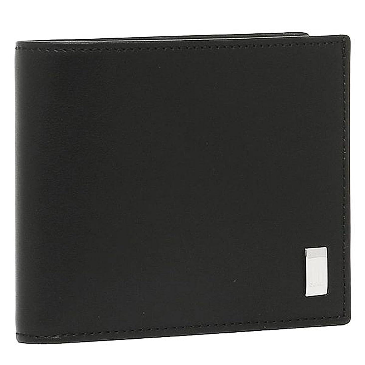 咽頭意気込みレコーダー[ダンヒル] 財布 DUNHILL QD3070A SIDECAR 2つ折り財布 BLACK 黒 [並行輸入品]
