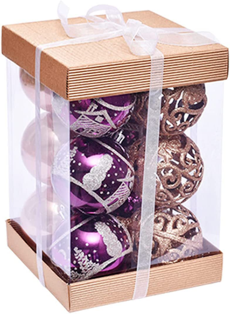 Christmas Bargain sale Balls Ornament - 80Mm Hollow Japan Maker New Shatterproof 3.15Quot; X