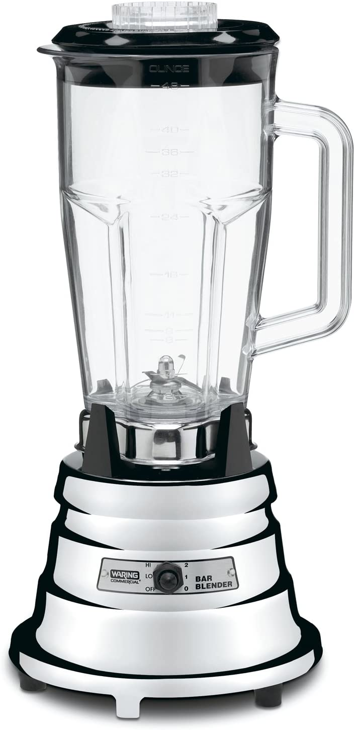 Waring Commercial Limited time cheap sale BB900P 1 2 HP 48-Ounce Chrome Bar Max 89% OFF Blender with
