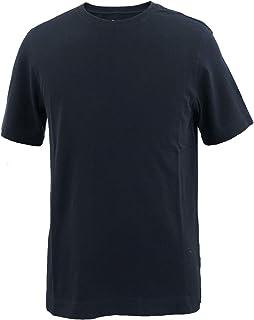 [CIRCOLO1901 チルコロ1901] メンズ コットン 鹿の子 クルーネック 半袖 Tシャツ ACU2274ST NOT(ネイビー)