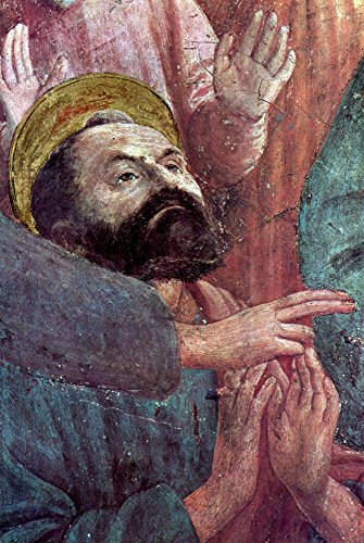 The Museum Outlet - Brancacci Chapel - awakening Theophilus' son by Masaccio - Poster Print Online Buy (40 X 50 Inch)