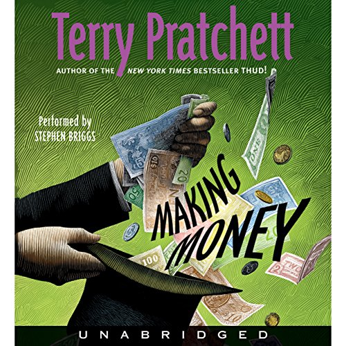 Making Money audiobook cover art
