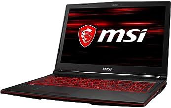 "MSI GL63 8RE-629 15.6"" FHD IPS GTX 1060 6 GB VRAM i7-8750H 16 GB Memory 128 GB SSD + 1 TB HDD Windows 10 Home Gaming Lap (..."