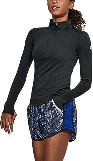 بلوزة رياضية للنساء من اندر ارمور، بلون اسود، مقاس Xs (1305116-001)