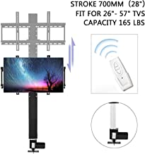 """FISTERS Motorised TV Lift for Large Screen 26"""" ~ 57"""" electronic TV mount Automatic tv bracket Weight Capacity up to 165 lb."""
