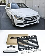 Extreme Online Store Replacement for 2015-Present Mercedes Benz W205 C-Class Models | EOS Plate Version 1 Front Bumper Tow...