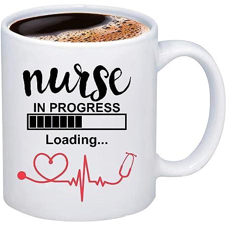Nurse in Progress Student Nurse Mug Nursing Student Gift Future Nurse Gift Nurse