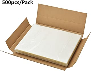 BESTEASY 3 Mil Clear Letter Size Thermal Laminating Pouches, 8.9'' x 11.4'', Pack of 500