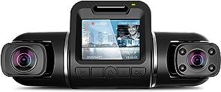 2カメラ ドライブレコーダー どらいぶれこーだー YAZACO X2 Pro 令和最新版 前後カメラ 車内外同時撮影 SONY STARVISセンサー 2K 500万画素 超強暗視機能 1080P スーパーコンデンサ内蔵 ACC駐車監視 超広視...