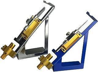 Popshot(TM) Pro Class Fletching Jig with Straight Clamp Adjustable DIY Carbon Fiberglass Arrows