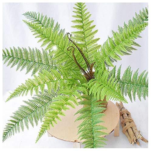 KAERMA Perzisch gras - kunstmatige varen plastic groene plant | nep bloemplant - binnen- en buitenhuis tuin kantoor tafel balkon decoratie is de beste keuze Home decoratie plantenaccessoires
