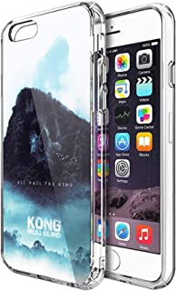 Case Phone Anti-Scratch Cover Motion Picture an Alternative for The Awesome Recent Kong Skul Movies (5.5-inch Diagonal Compatible with iPhone 7 Plus, iPhone 8 Plus)