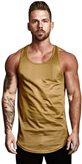 1392d5c4ef Bohelly New Men s Mesh Breathable Stitching Two-Color Muscle Sleeveless Vest  T-Shirt Bodybuilding