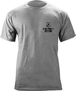 Air Force Security Forces Defensor Fortis Veteran Skull T-Shirt