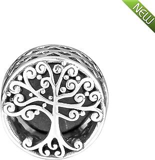 8771a0c065e6 PANDOCCI 2018 Otoño Familia raíces abalorio plata 925 DIY se adapta a  pulseras originales Pandora encanto