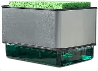 Tutulix Dispensador de jabón de Cocina Incluye Esponja Nuevo Modelo Mejorado Soap Dispenser
