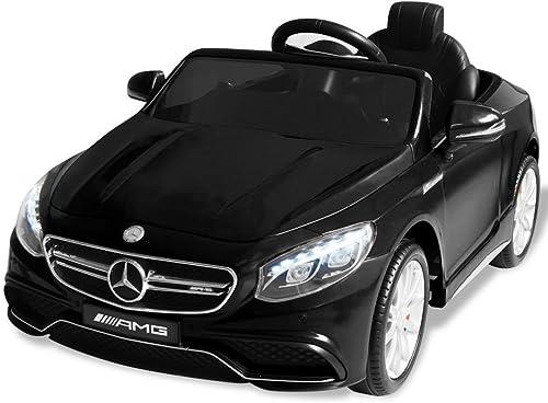¡envío gratis! Festnight Coche Eléctrico para Niños Mercedes Mercedes Mercedes Benz AMG S63 Control Remoto 6 V  solo para ti