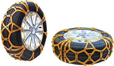 Snow Chain - car tire Snow Chain Thickening Tendon TPU for car Off-Road Easy to Install (Size : 23565R17)