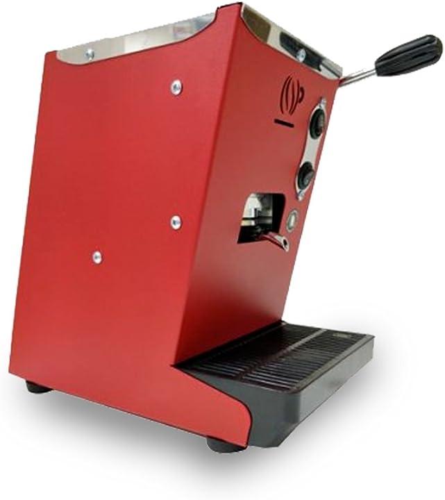 Macchina caffè - macchina da caffè a cialde ese 44 mm lollo caffè lollina rossa + 40 cialde in omaggio B07DWZWDDS