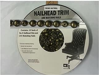 french natural nailhead trim kit