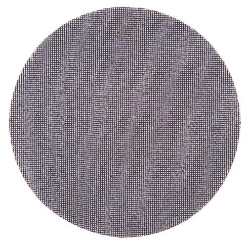 Wolfcraft 2288000 2288000-5 Discos Adhesivos de lijar, Tejidos de Rejilla, carburo de silicio, Grano 220, para lijadores de plafones y Pared, 225mm, Set de 5 Piezas