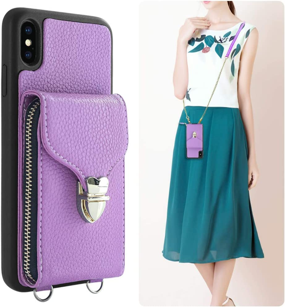 JLFCH iPhone Xs Max wi Case depot Brand new Crossbody Wallet