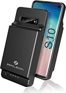 OIFEN Samsung Galaxy Note 10 Plus Battery Case Pink 7000mAh Rechargeable Backup Charger Shock Absorption Heavy Duty Battery Case