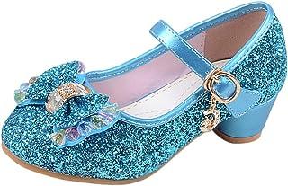 [uirendjsf] 子供 メアリージェーン - 女の子 サンダル 裁判所の靴 キラキラ ローヒール 可愛い プリンセス コスプレ 結婚式 パーティー