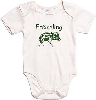 Eidos Wunderschöner Baby-Body als Geschenk direkt zur Geburt oder als angenehme Bekleidung für die ersten Monate des Nachwuchses - in naturbelassener Bio-Baumwolle