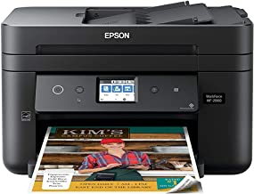 Epson Workforce WF-2860 All-in-One Wireless Color Printer with Scanner, Copier, Fax, Ethernet, Wi-Fi Direct and NFC, Amazo...