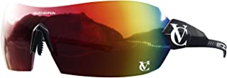 VeloChampion Hypersonic PRO - Gafas de sol de ciclismo para ciclismo, sin marco, con lentes de fácil cambio y 100% protección UV