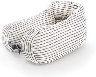 U-shaped Neck Pillow Support Neck Head Cushion Portable Travel Pillow Lightweight Soft Office Nap Memory Foam (Color : A)